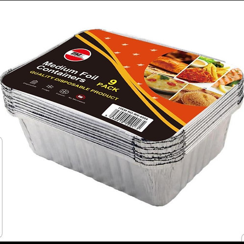Medium Foil Containers Single Pack