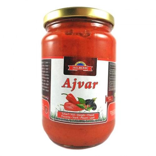 Kelmendi Hot Ajvar 720 Gr