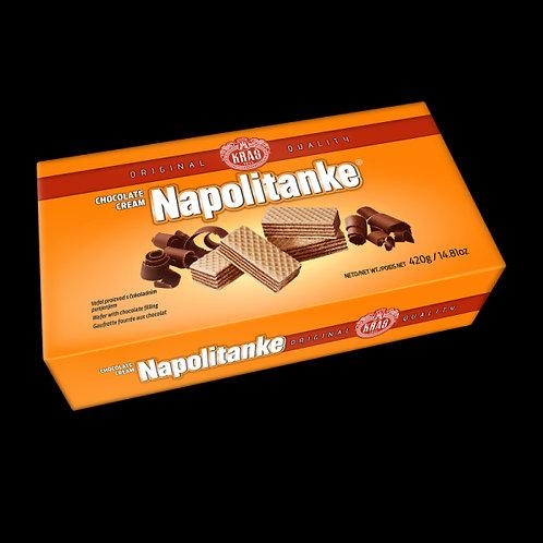 Kras Napolitanke (Block) Chocolate Cream Wafers 420 Gr