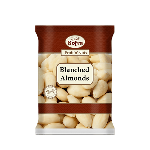 Sofra Blanched Almonds 470G