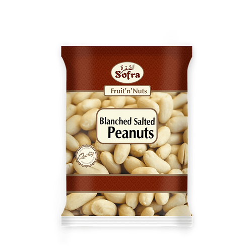 Sofra Blanched Salted Peanuts 180G