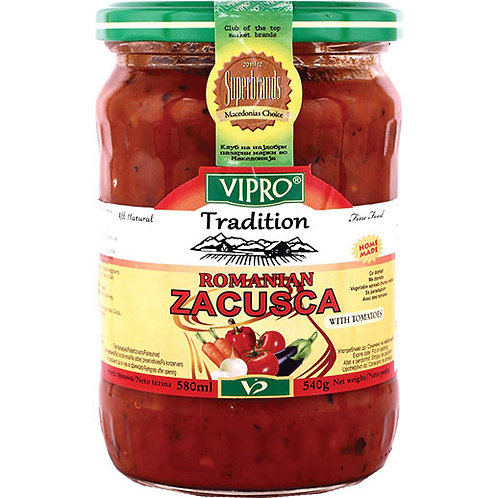 Vipro Zacusca with Tomato 580 Gr