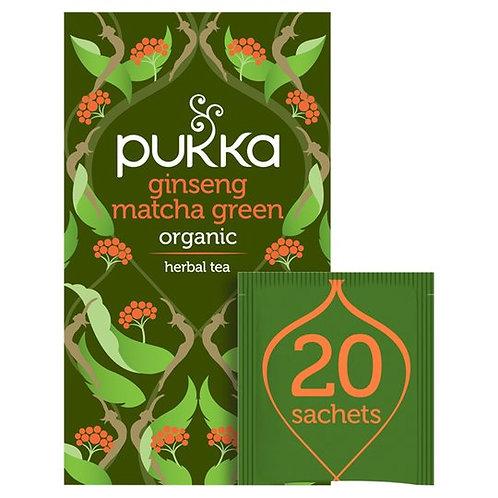 Pukka Ginseng M.Green Tea 30gr