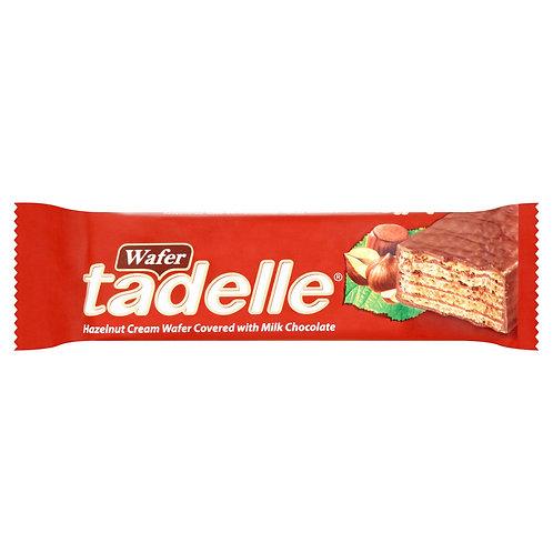 Tadelle Hazelnut Cream Wafer Covered with Milk Chocolate 35 Gr