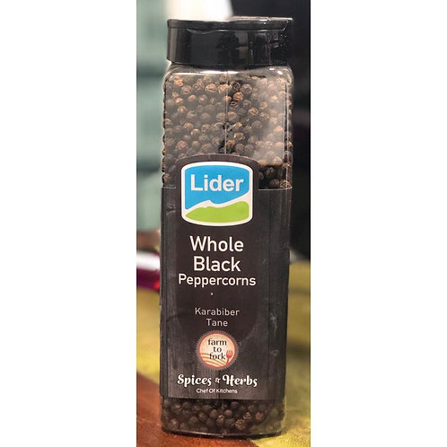 Lider Whole Black Peppercorns 500G