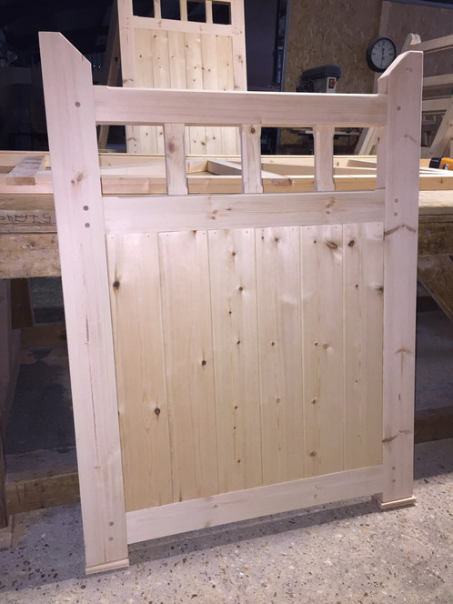 Wooden Gates For Sale Near Me 4' High!