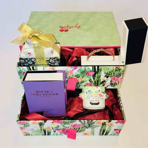 Ladies Gift Box Hamper UK Front View Perfect For Her Birthday Christmas Present