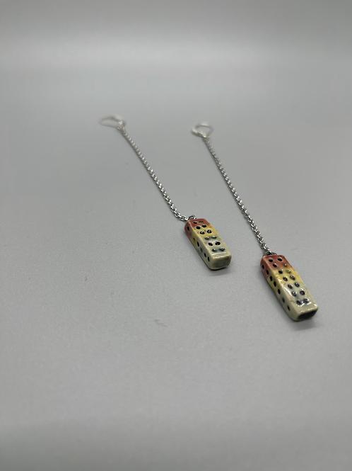 Chain Dangle Earrings 2