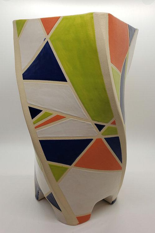 Geometric Twisty Vase