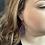 Thumbnail: Medium Feather Earrings (4 color choices)