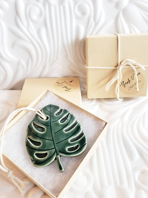 Monstera Ornament Gift Boxes