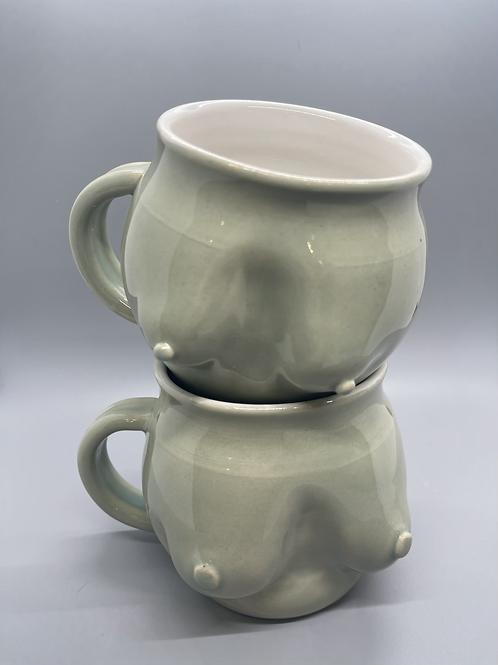 Titty Mug in Aqua