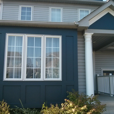 Painting Wooden Siding in Ajax