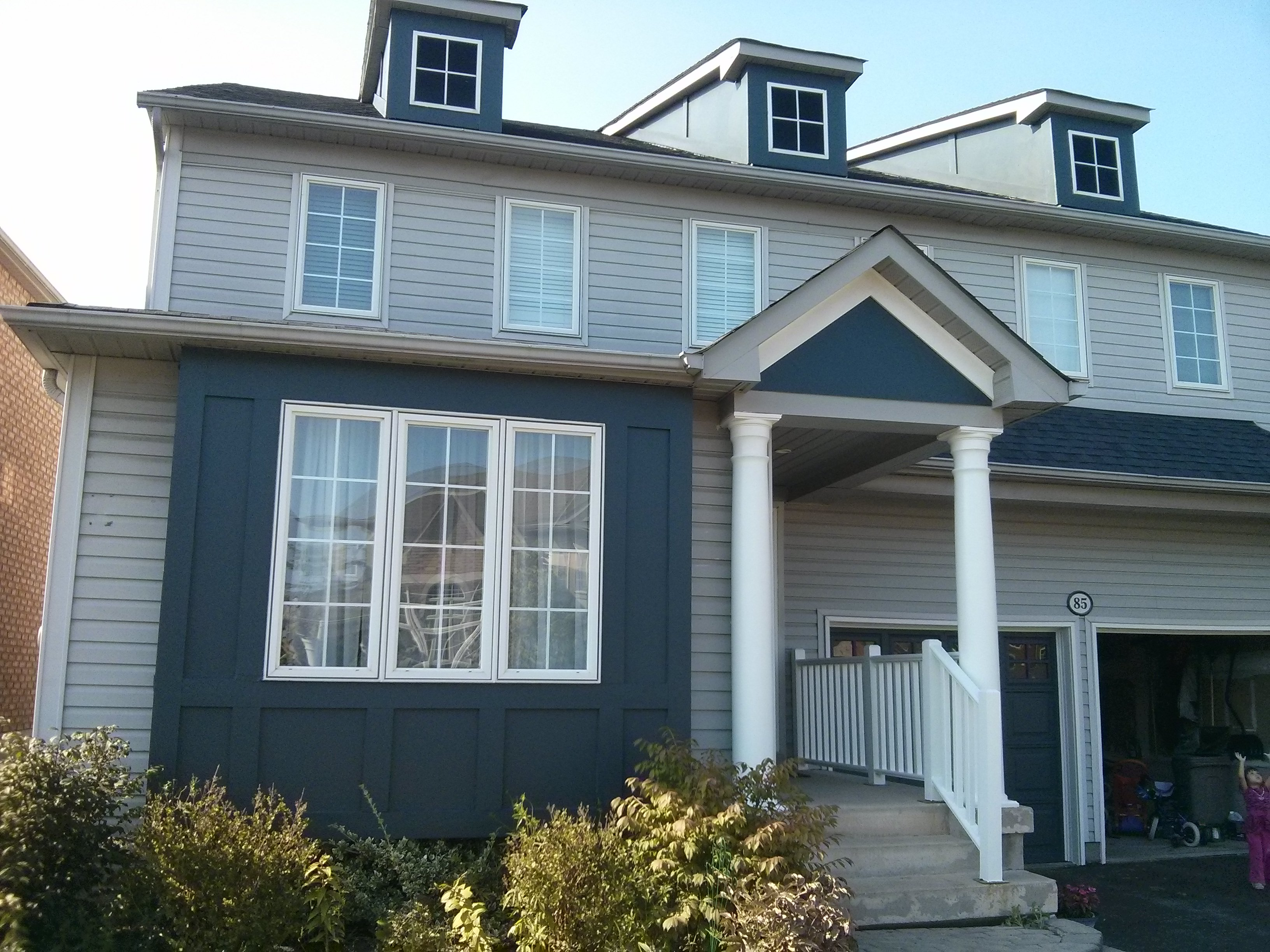 Exterior House Trim Painting in Ajax