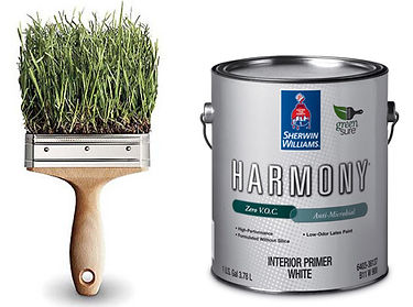 Professional harmony sherwin wiliams products green painters friendly environment, healthy, family