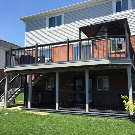 Professional Deck Staining in Clarington