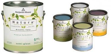 Natura Benjamin Moore professional painting products in Toronto, Whitby, Ajax, Courtice, Uxbridge, Pickering Oshawa, Makham, Scarborough