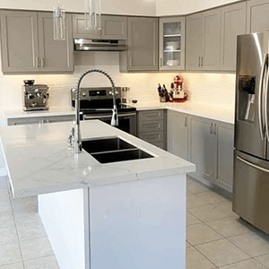 kitchen cabinet refinishing expert painters spray painting in Pickering Ontario