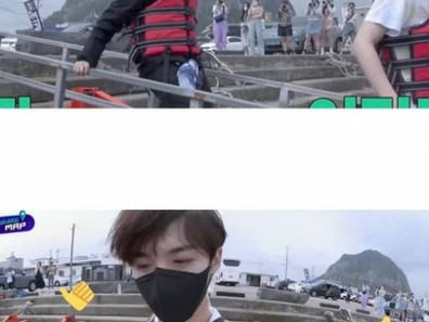 [حديث داخلي] ساسانغ فرقة تريجر يتبعنهم على متن قارب ㅋㅋ ㅋㅋㅋ