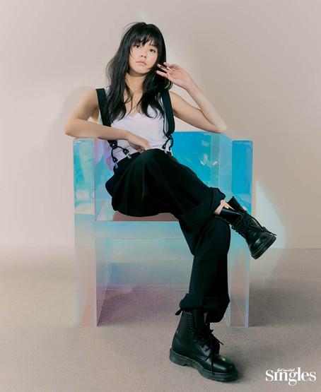كيم سوهيون لمجلة SINGLES عدد شهر أبريل
