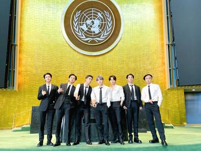 [الآراء] خطاب بانقتان في الجمعية العامة للأمم المتحدة + أداء Permission to Dance