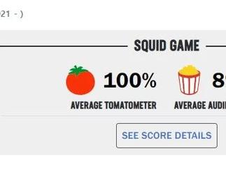 """[الآراء] دراما """"SQUID GAME"""" لنتفليكس تحرز نتائج مذهلة على موقع التقييمات """"ROTTEN TOMATO"""""""