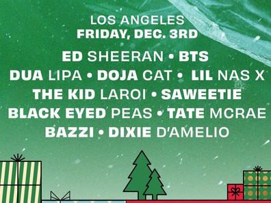 [ذاكيو] بانقتان سيقومون بإفتتاح حفل Jingle Ball المباشر في لوس انجلوس