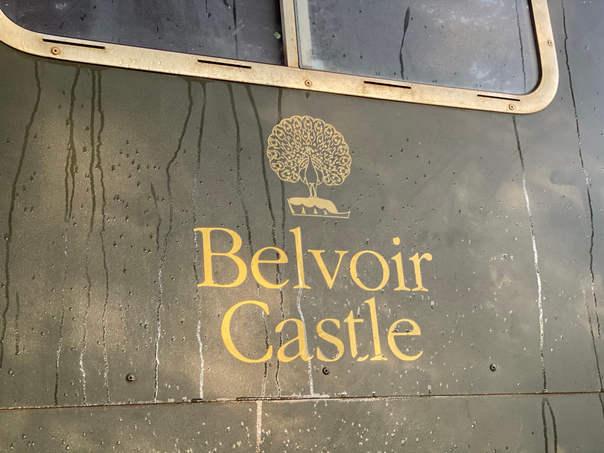 Gun Bus Belvoir Castle