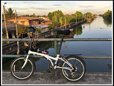Cycling around Klong Mahasawat