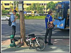 Bussing & Biking
