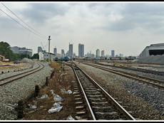 Phahon Yothin Railway Station - Another One (Literally!) Bit The Dust