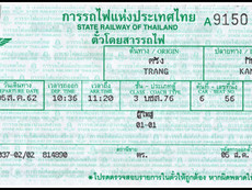 The End of the Southern-Andaman Railway Line: Kantang