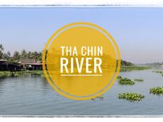 Cycling Around Tha Chin River