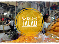 Pak Khlong Talad: Put some flowers in your hair