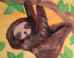 Sloth Like to Hang