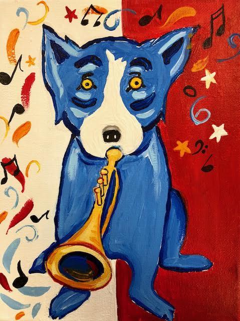 Blue Dog Trumpet