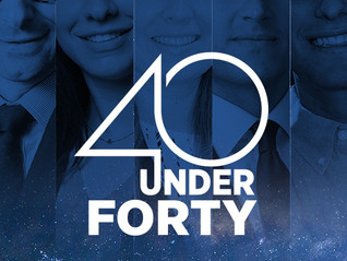 40 Under Forty — 2018 Winners Announced