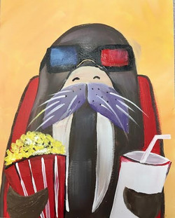 Walrus Likes 3D Movies