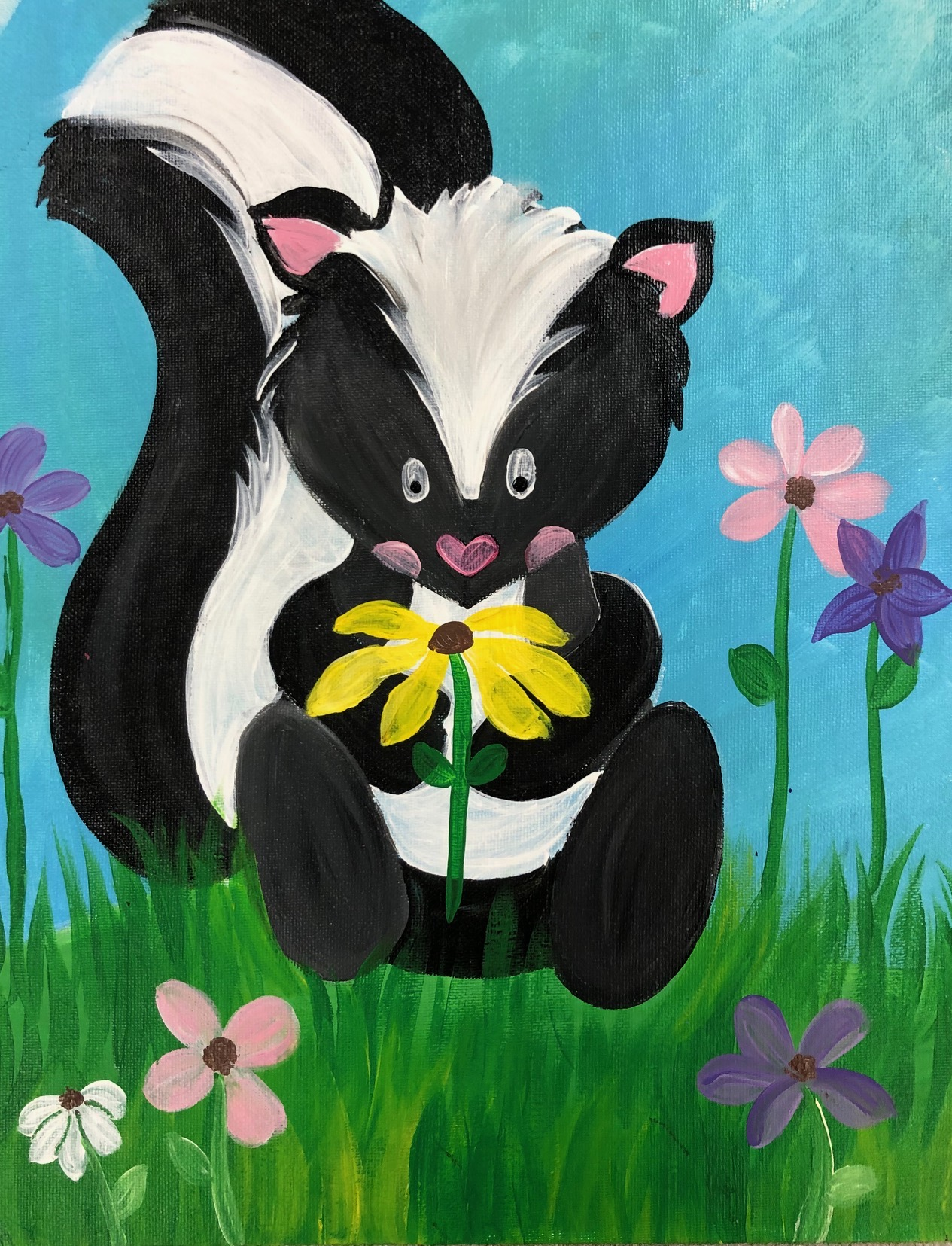 Spring Skunk