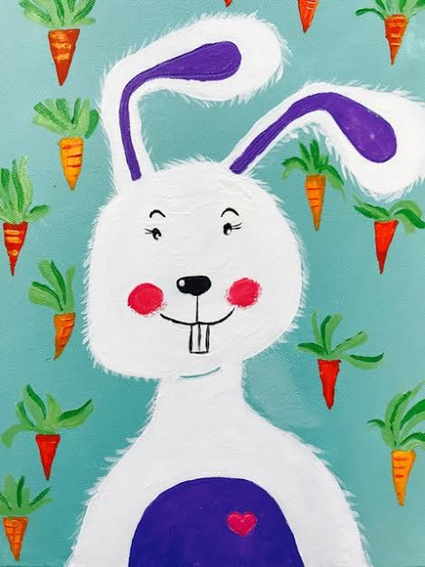 Happy Rabbit (It's raining carrots)