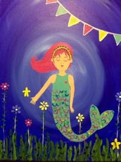 Floating Mermaid