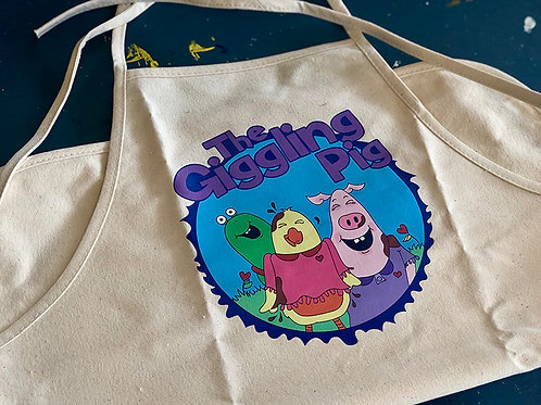Giggling Pig Apron