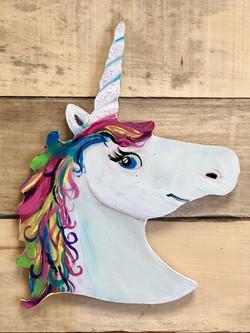 Unicorn (wood panel party)