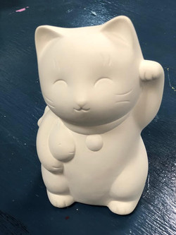Ceramic Lucky Kitty