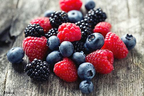 Fondant Fruits rouges