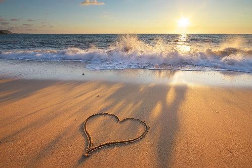 Fondant L'amour à la plage