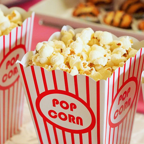 Fondant Popcorn
