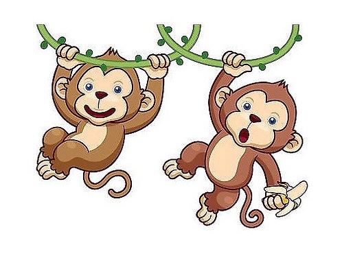 Fondant Pets de singe