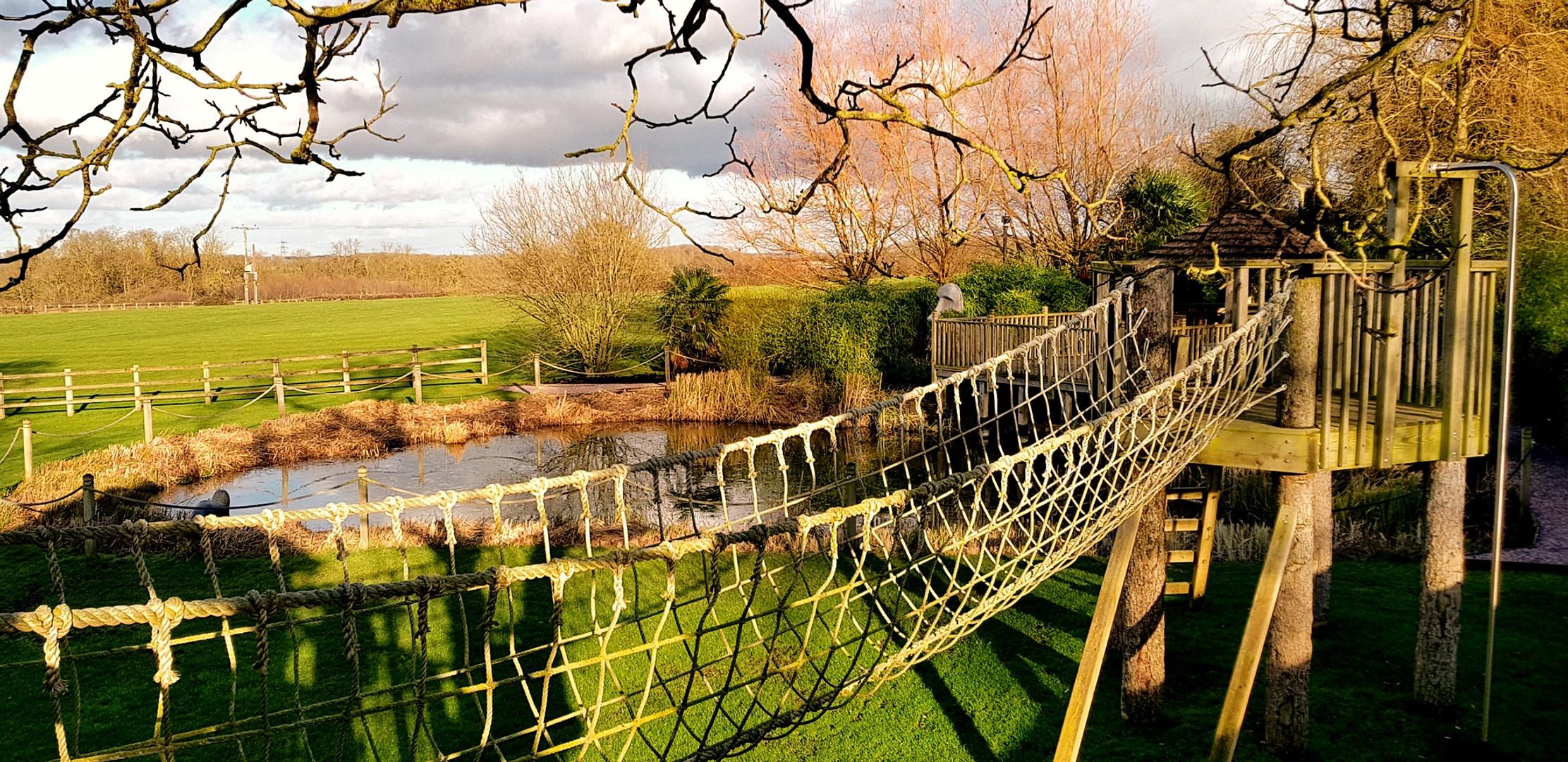 A feature of a private adventure area, Cambridgeshire