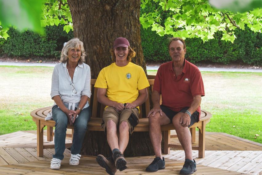 Jeffrey, Lucien & Lavinia Carey